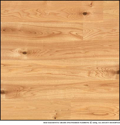 Southfloor red oak rustic grade engineered wood flooring for Rustic red oak flooring